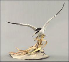 A Boehm Porcelain 'Least Tern' : Lot 133-2029 #porcelain #boehm #tern #decorative