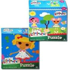 12 Button Doll Puzzles Come In Each Pack - These Lalaloopsy puzzles will make great party favors.