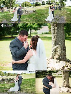 Caitlin & Christopher's August 2015 #wedding at the Skyview Golf Club! | photo by deanmichaelstudio.com | vendors: @alittleacake, @davidsbridal, @josabank, @ciroshair, @wholefoods, @weddingpaper, @sceeventgroup | #njwedding #love #summer #photography #DeanMichaelStudio