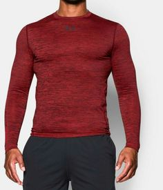 Under Armour Coldgear Compression Crew Herren Training Shirt Longsleeve Sport Utmost In Convenience Fitness, Running & Yoga