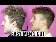Showing you how to do a simple men's cut. It's nothing too fancy, but it's an easy way to clean up their hair at home. Mens Haircut Diy, Haircut Tip, Simple Mens Haircuts, Haircuts For Men, Short Fade Haircut, Short Hair, Wavy Hair Men, Men's Hair, Easy Hair Cuts