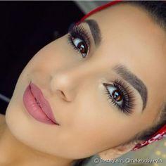 Make up goals Makeup Geek, Makeup Eyeshadow, Eyeliner, Hair Makeup, Mac Soar Lip Liner, Vegas Nay Lashes, Gerard Cosmetics, Eyes Lips Face, Simple Makeup