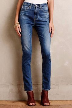 Everyone needs a good pair of blue jeans. Chanel, Ag Jeans, Denim Skinny Jeans, Blue Jeans, High Rise Jeans, All Fashion, Playing Dress Up, A Boutique, What To Wear