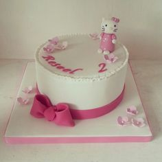 Hello kitty cake birthday girl