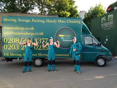 Removals London, Man and Van London Packing, Cleaning, Storage. Professional Office and House Removals Services
