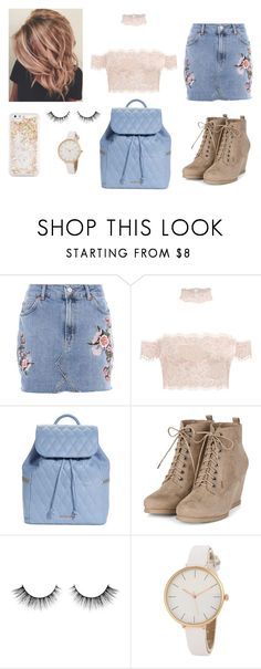 """""""Option #2"""" by lavenderlem0ns ❤ liked on Polyvore featuring Topshop, Vera Bradley and ban.do"""