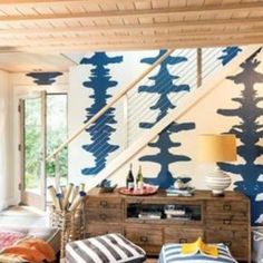 "Porter Teleo is in the Boston Globe  ""An Edgartown home makes the most of two small buildings""... With Designer Mary Rentschler and architect Chuck Sullivan. #INKBLOTS #Boston #handmade #porterteleo #art #porterteleooriginal #wallcovering #textiles #madeinkc #madeintheusa #bostonglobe #interiordesign #architecture #interiors"