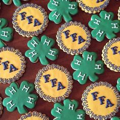 Need a creative #4HFair treat idea? Check out these #4H and #FFA snacks (created by Olivia Luse) that everyone can enjoy!