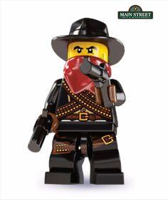 LEGO MINIFIGURES SERIES 6 8827 Bandit  NEW  #LEGO