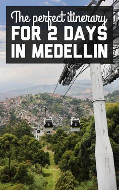 Medellin was an easy place to relax and explore at a slow pace. Here's the perfect itinerary for 2 days in Medellin, including all the best things to do! Trip To Colombia, Colombia Travel, Backpacking South America, South America Travel, Beautiful Places To Visit, Cool Places To Visit, Travel Plan, Travel Guide, Traveling By Yourself