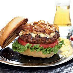 Stilton Burgers   CookingLight.com