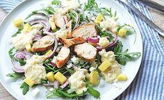 Fruchtiger Hähnchen Mango Salat.   was eigenes   Bloglovin'