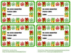 Keep behavior in check during the weeks before Holiday break. You are downloading a Behavior Punch Card to help manage classroom behavior. Use any incentive you want for your students after all the pictures have punched holes in them. Enjoy!