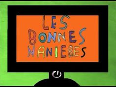 Pat Bol - Les bonnes manières - YouTube Calm, French, Videos, Artwork, Children, Work Of Art, French People, French Language, France