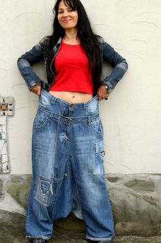 Reserved for Niggel recycled jeans denim yoga pants by jamfashion