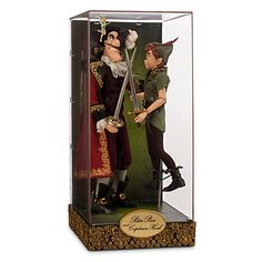 Peter Pan and Captain Hook Disney Fairytale Designer Collection