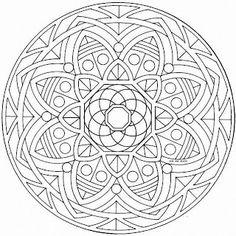 Mandalas Para Pintar  mandalas  Pinterest  Mandalas