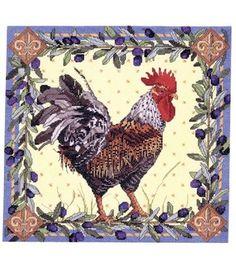 Bucilla  Counted Cross Stitch Kit-RoosterBucilla  Counted Cross Stitch Kit-Rooster (for granny)