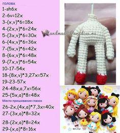 Mesmerizing Crochet an Amigurumi Rabbit Ideas. Lovely Crochet an Amigurumi Rabbit Ideas. Crochet Dolls Free Patterns, Crochet Doll Pattern, Amigurumi Patterns, Amigurumi Doll, Doll Patterns, Tutorial Crochet, Crochet Bear, Cute Crochet, Crochet Hats