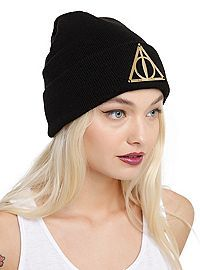 HOTTOPIC.COM - Harry Potter Deathly Hallows Beanie