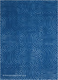 NEW IN: Vita Waves Blue Rug, a contemporary polyester/viscose blend rug from Nourison in shades of blue (2 sizes, 90% polyester & 10% viscose, hand-tufted) http://www.therugswarehouse.co.uk/modern-rugs3/vita-rugs/vita-waves-blue-rug.html
