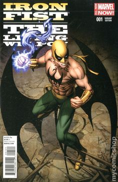 Iron Fist The Living Weapon (2014) 1B  Marvel Comics Modern Age Comic book covers Super Heroes  Villians