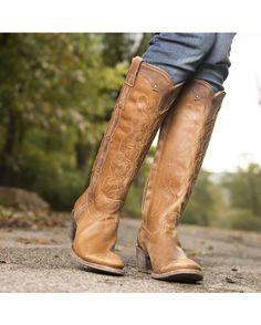 Corral Women's Kats Natural Westport Boot - C1971