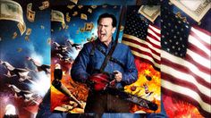 Bruce Campbell talks trip home, Lee Majors in 'Ash vs. Evil Dead' S2