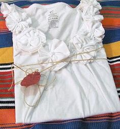 diy fabric rose