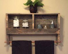 Rustic Pallet Furniture Wood Wall Mirror Rustic von NCRusticdesigns