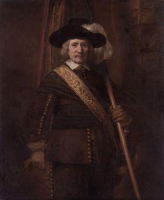 The Standard Bearer (Floris Soop, 1604–1657), by Rembrandt van Rijn.jpg