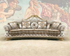Диван светло-серый Sat Export VENERE Sofa 3 seater , каталог мягкой мебели: фото, заказ, доставка - ABITANT , Москва