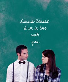 The Lizzie Bennet Diaries and the moment my heart melted. ❤