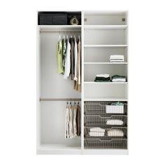PAX Garderobekast met inrichting IKEA Gratis 10 jaar garantie. Raadpleeg onze folder voor de garantievoorwaarden.