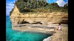 Corfu Canal D'amour in Sidari, Corfu ! Greece Rhodes, Corfu Greece, Corfu Sidari, Corfu Island, Paradise On Earth, Travelogue, Summer Travel, Greek Islands, Wonderful Places