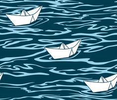Sailing fabric by aalk on Spoonflower - custom fabric