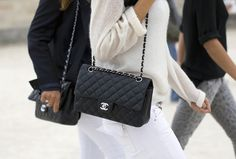 Chanel bag...great investment with your refund :)