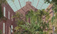 Image 1 of 11 from gallery of Assemble Awarded the 2015 Turner Prize for Granby Four Streets. Design for a winter garden in a derelict home in Granby Four Streets. Image Courtesy of Assemble Collage Architecture, Architecture Visualization, Garden Architecture, Architecture Drawings, Architecture Design, Turner Prize, Street Image, Street Art, Architectural Presentation