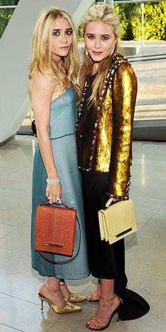 Ashley & MK in The Row + Chanel