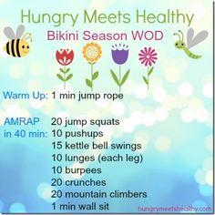 Bikini Season WOD