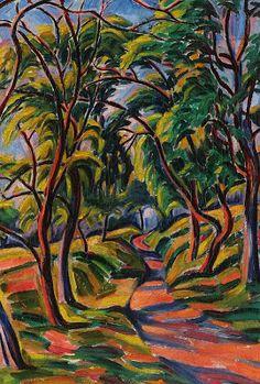 Bornemisza Geza Henri Matisse, Moving To Paris, Art School, All The Colors, Art Gallery, Colours, Fine Art, Landscape, Colourful Art