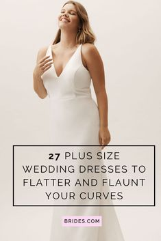 No matter your size, your wedding dress should fit you perfectly. We've researched the best plus size wedding dresses to celebrate and flatter your curves.