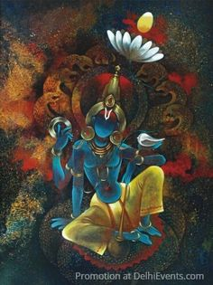 Lord Ganesha Paintings, Lord Shiva Painting, Buddha Painting, Krishna Painting, Kerala Mural Painting, India Painting, Indian Art Paintings, Modern Art Paintings, Hare Krishna