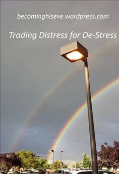 Trading Distress for De-Stress from Becoming His Eve