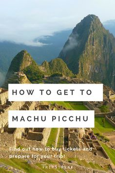 Before you travel to Machu Picchu, be sure to read these helpful travel tips! REPIN then click to read the rest!