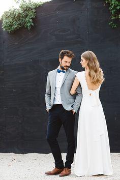 Inspiration für eine urban-moderne Hochzeit mit Boho- und Vintage-Touch.