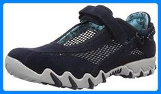 Allrounder by Mephisto NIRO C.SUEDE 45/OPEN MESH 55, Damen Mary Jane Halbschuhe, Blau (OCEAN), 41.5 EU (7.5 Damen UK) - Mary jane halbschuhe (*Partner-Link) Mephisto, Mary Janes, Nike Huarache, Partner, Mesh, Sneakers Nike, Outdoor, Ocean, Link