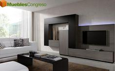 Tv units tv wall unit modern design x 8 3d model by for Murales salon modernos