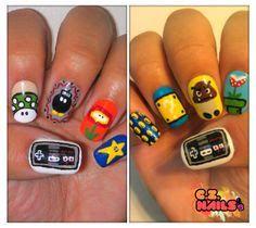 Nintendo nails