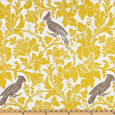 TABLE RUNNER  Premier Prints Barber Slub Yellow/Taupe by kohinoor, $18.00